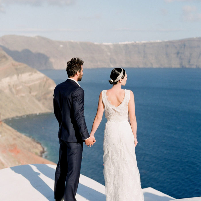 ELEGANT WEDDING IN OIA, SANTORINI