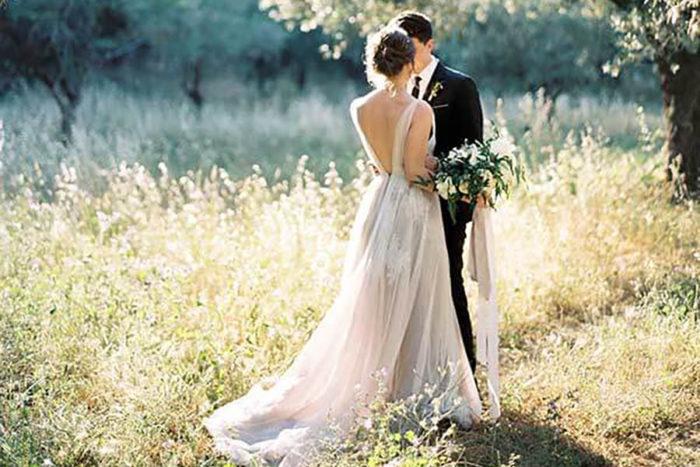 Intimate Olive Grove Wedding, Monemvasia