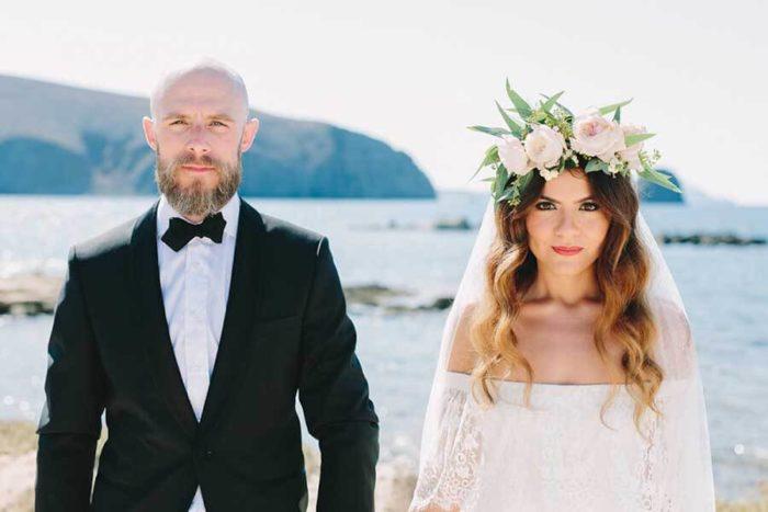 Bohemian Chic Wedding, Milos
