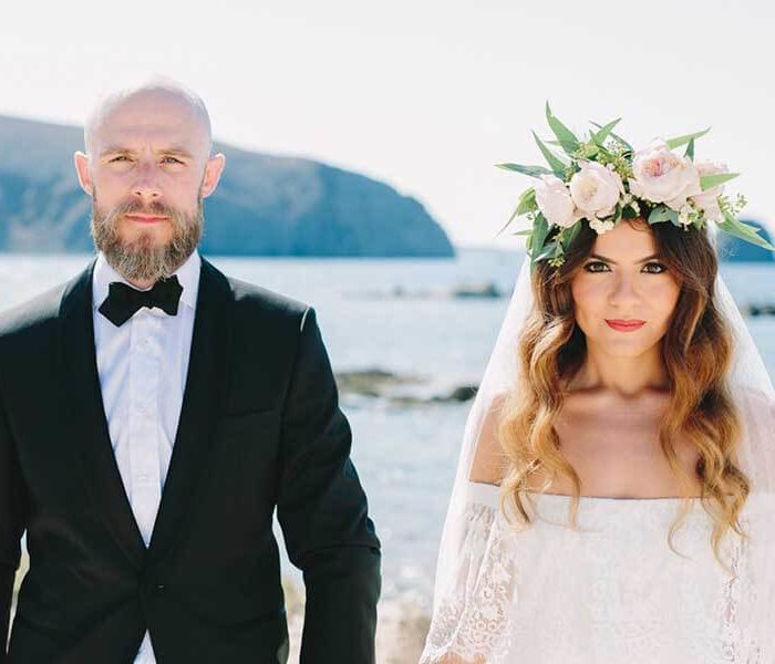 Bohemian Chic Wedding, Milos